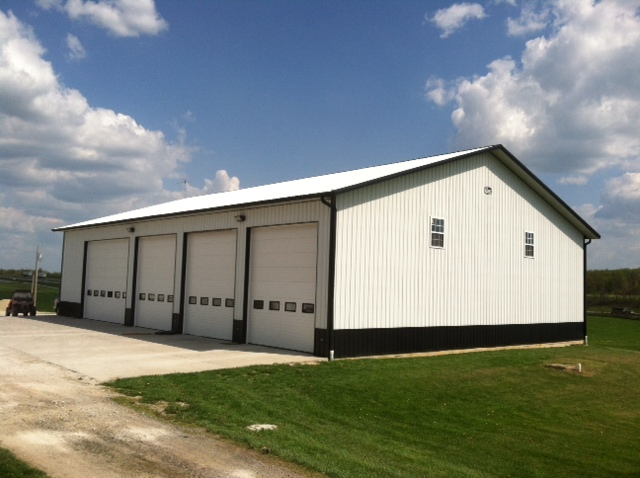 Huber trucking comer buildings for Pole barns indiana