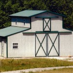 Mono-style Stall Barn 34' x 36'