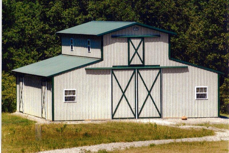 Mono-style Stall Barn