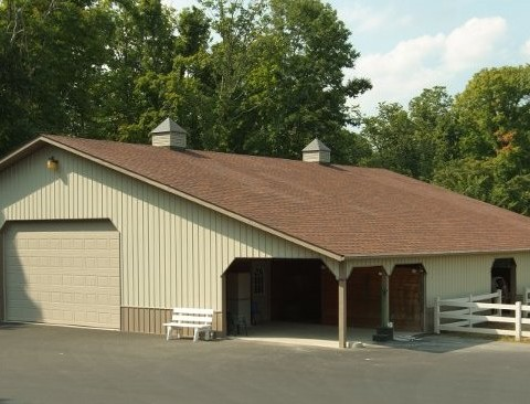 Equestrian Stall Building