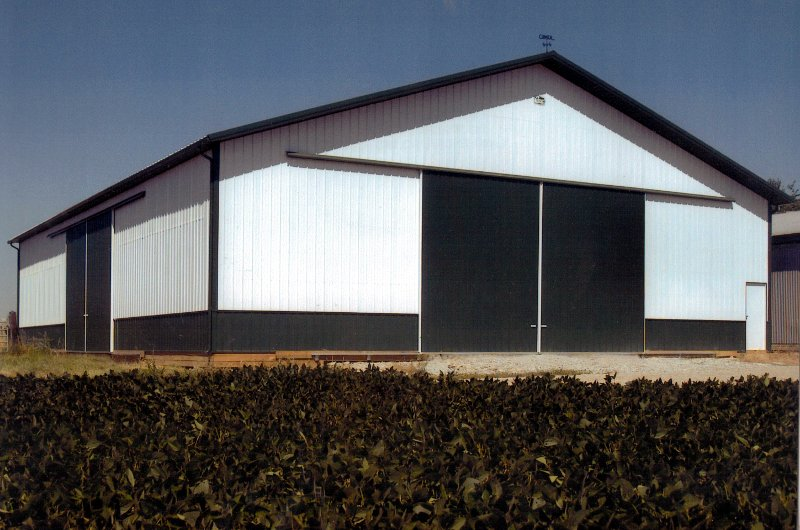 Green Agricultural Building 60' x 80'