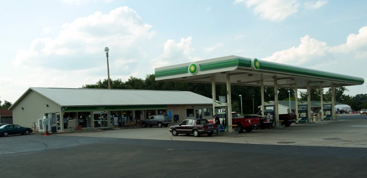 BP Fuel Station 50' x 105'