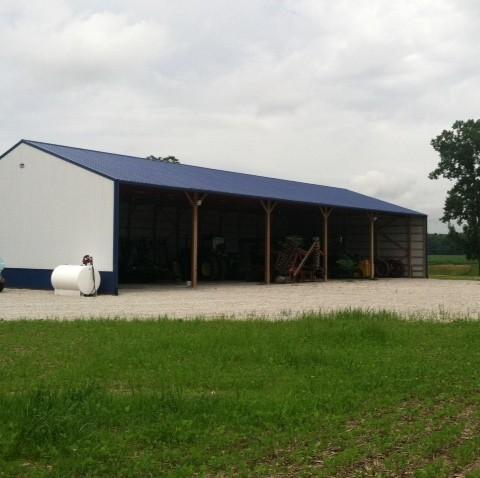 Equipment Storage Open Building