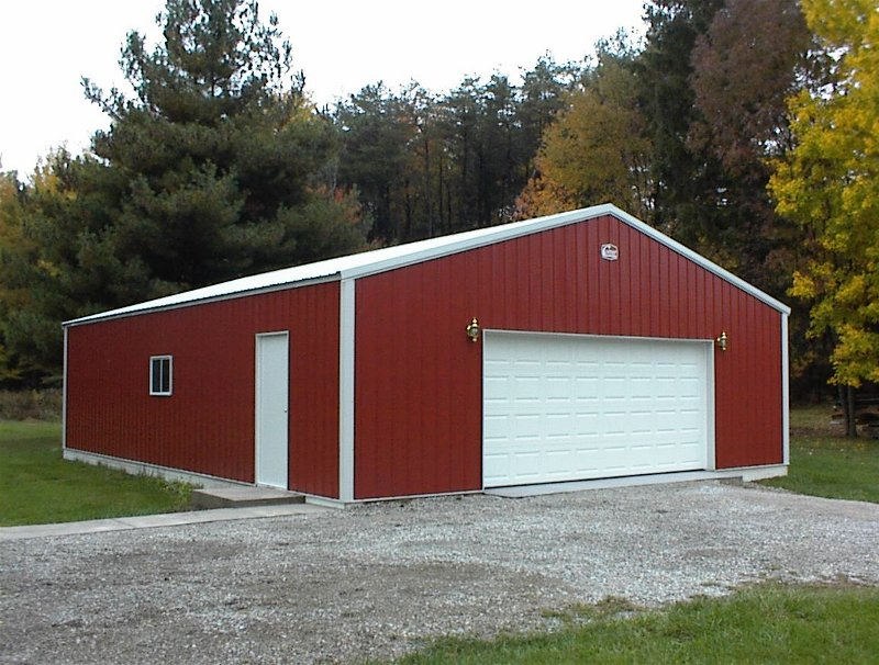 Residential Garage 40' x 48'