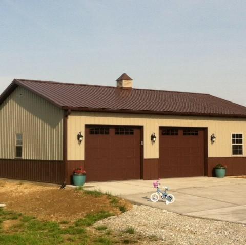 Two Car Residential Garage