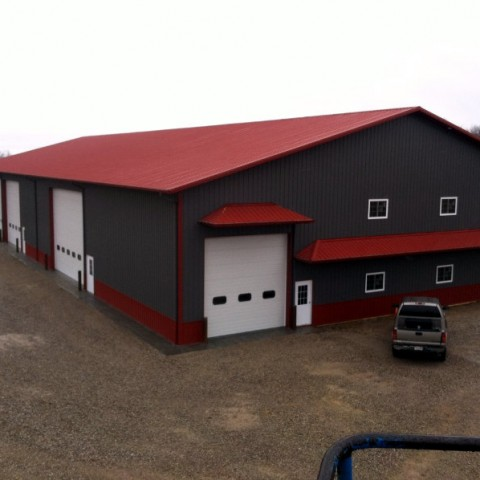 Agricultural Equipment Storage